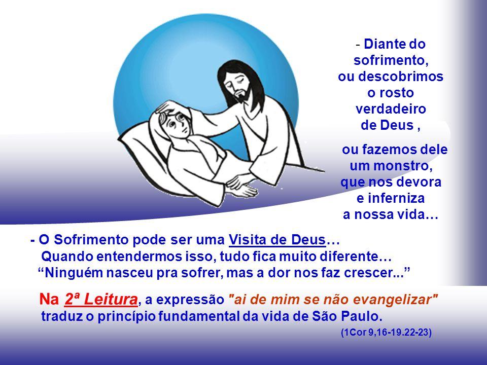 JÓ lamenta sua condição de sofredor, mas confia em Deus, pois tem a certeza de que só em Deus pode encontrar esperança e o sentido para a sua existência.