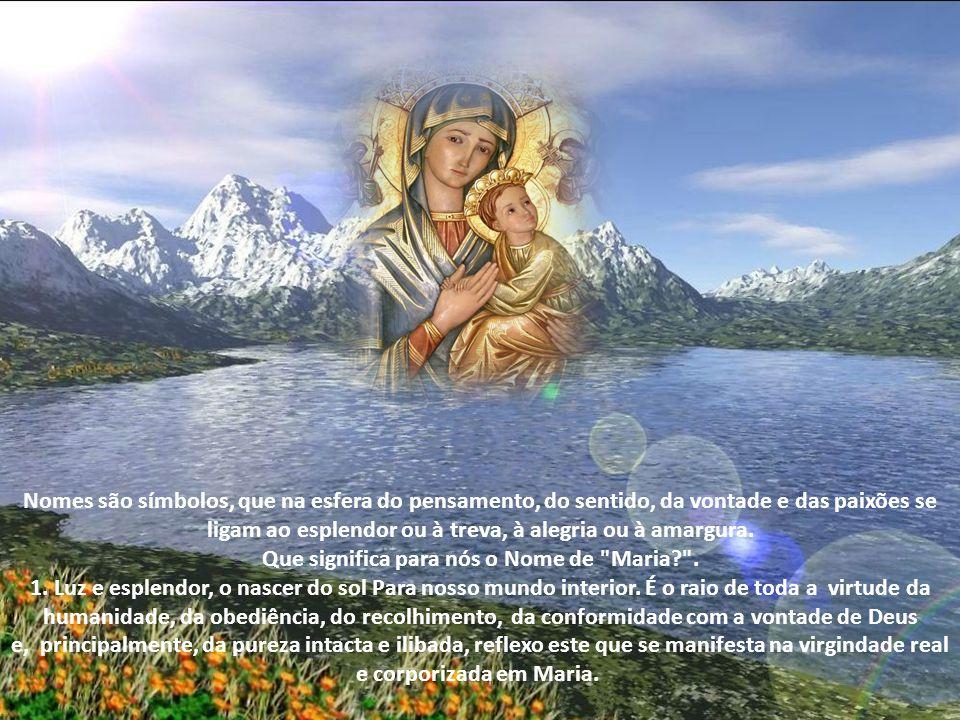 A Liturgia estabeleceu a festa do Santíssimo Nome de Maria no decurso da oitava de sua Natividade.