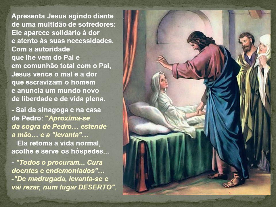Na 2ª Leitura, a expressão ai de mim se não evangelizar traduz o princípio fundamental da vida de São Paulo.