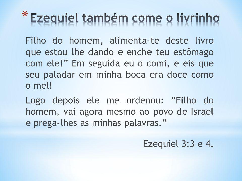 Afinal, não estás sendo enviado a um povo estrangeiro, de fala incompreensível e língua difícil de se entender, mas sim ao povo de Israel.