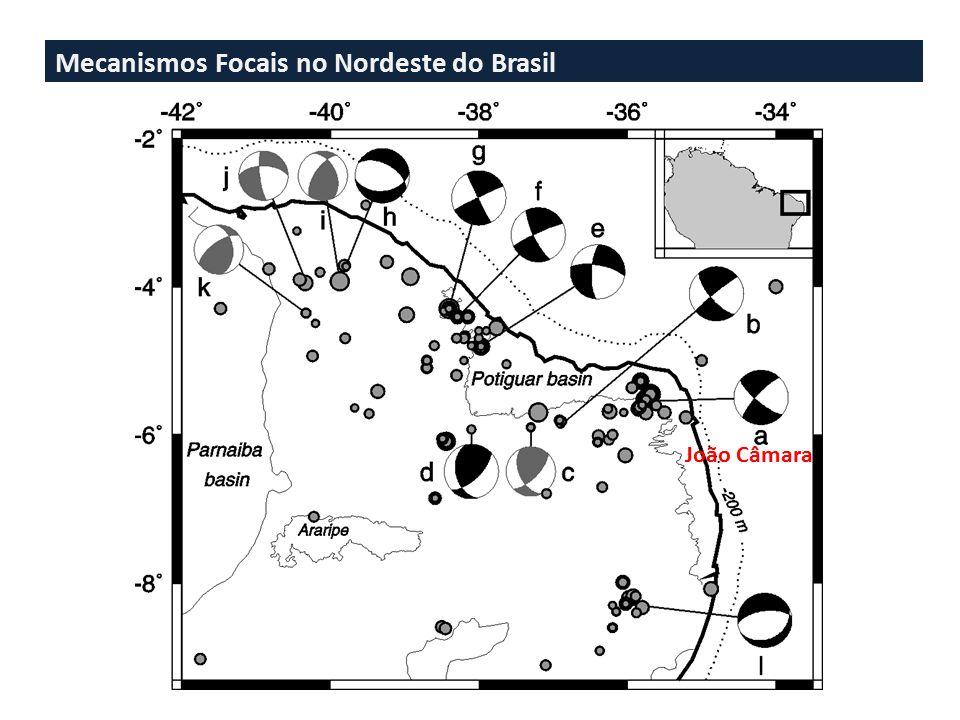 Mecanismos Focais no Nordeste do Brasil João Câmara