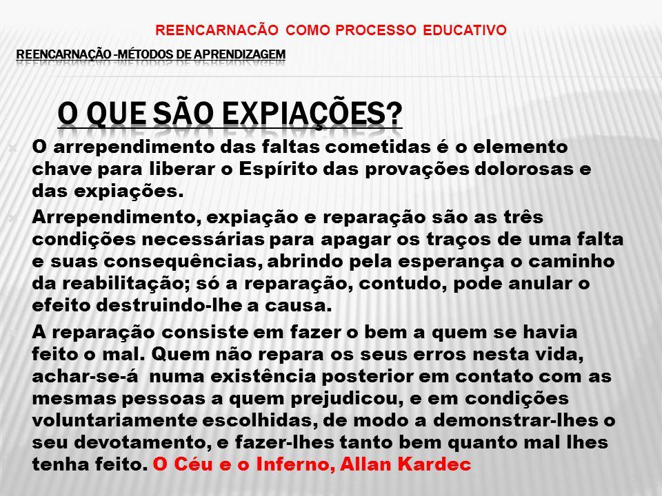 31 REENCARNACÃO COMO PROCESSO EDUCATIVO