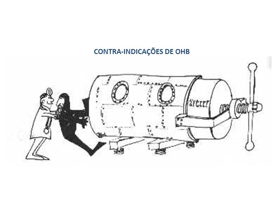 CONTRA-INDICAÇÕES DE OHB