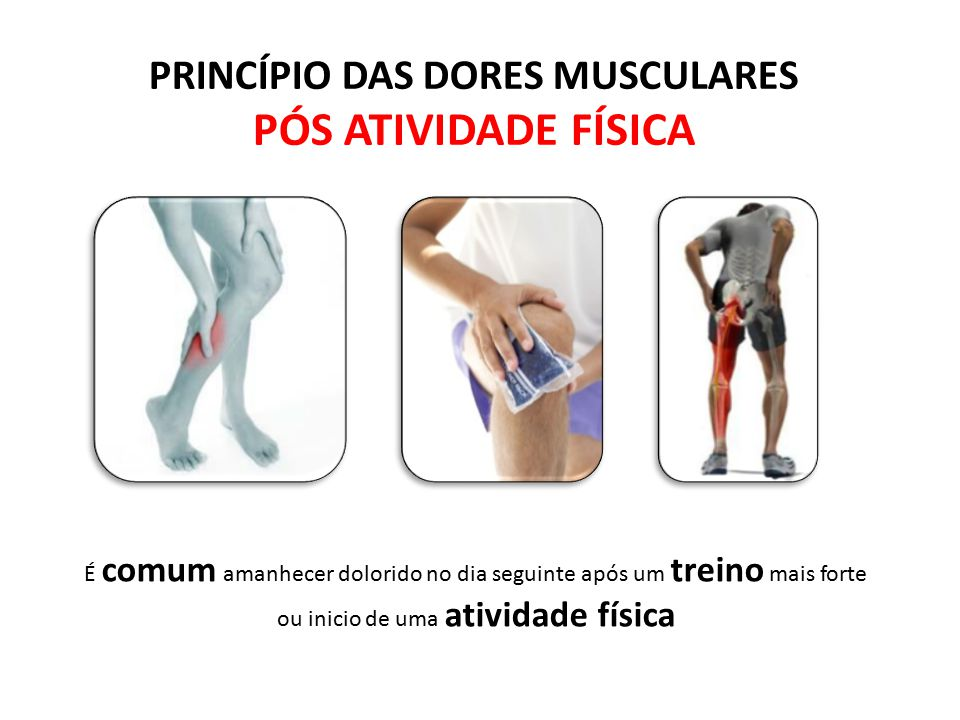 Tiburcio Barros atividade física mais intensa causa acúmulo de acido láctico nos músculos e este provoca a dor, mas não é só isso! Quando uma atividad