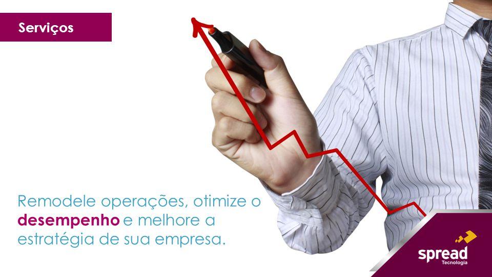 Remodele operações, otimize o desempenho e melhore a estratégia de sua empresa. Serviços