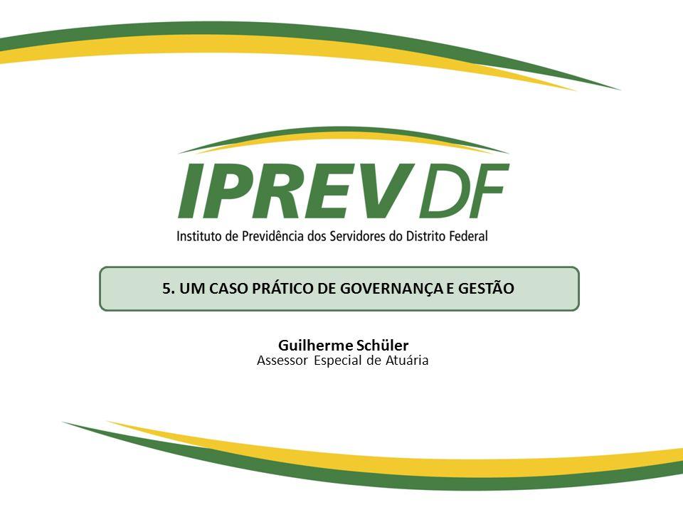 Guilherme Schüler Assessor Especial de Atuária 5. UM CASO PRÁTICO DE GOVERNANÇA E GESTÃO
