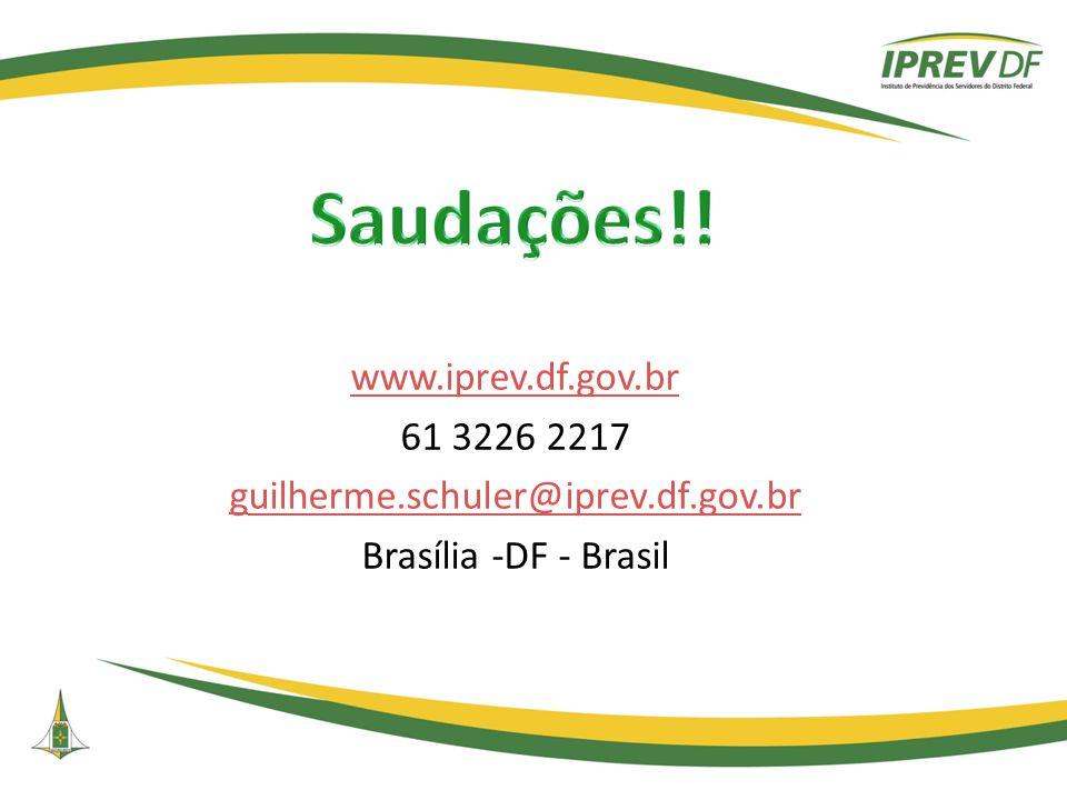 www.iprev.df.gov.br 61 3226 2217 guilherme.schuler@iprev.df.gov.br Brasília -DF - Brasil