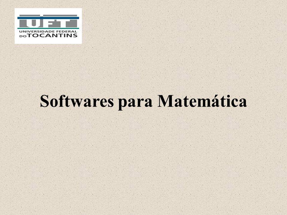Softwares para Matemática