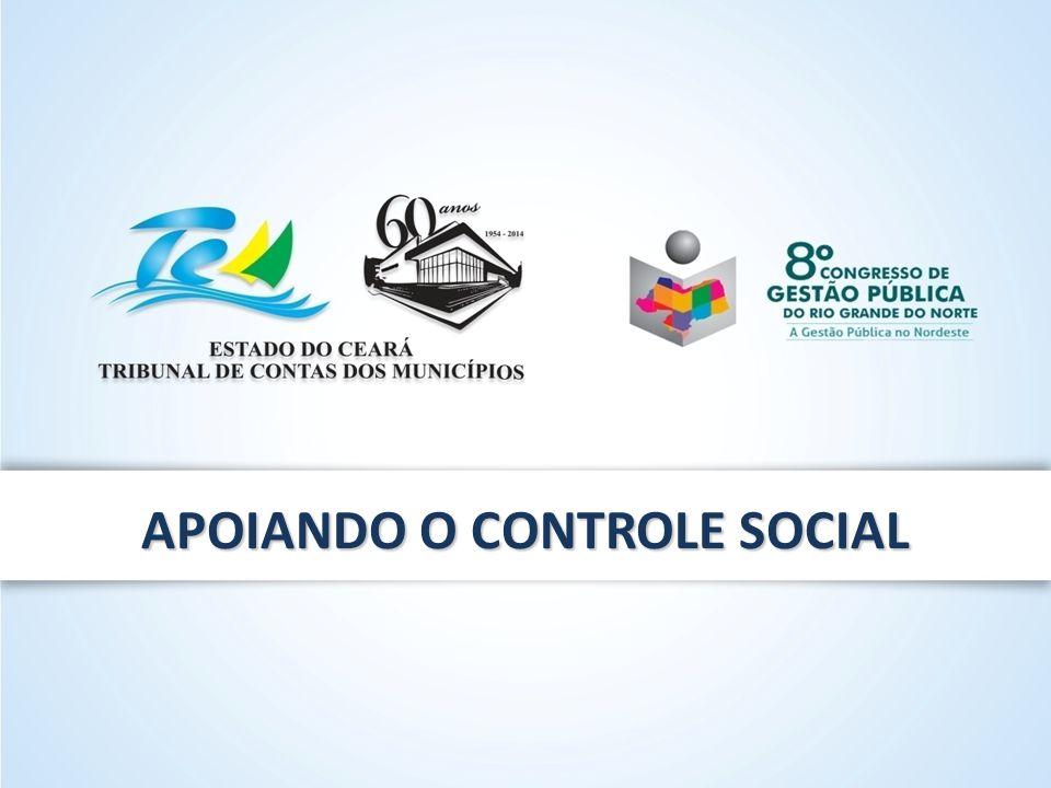 APOIANDO O CONTROLE SOCIAL