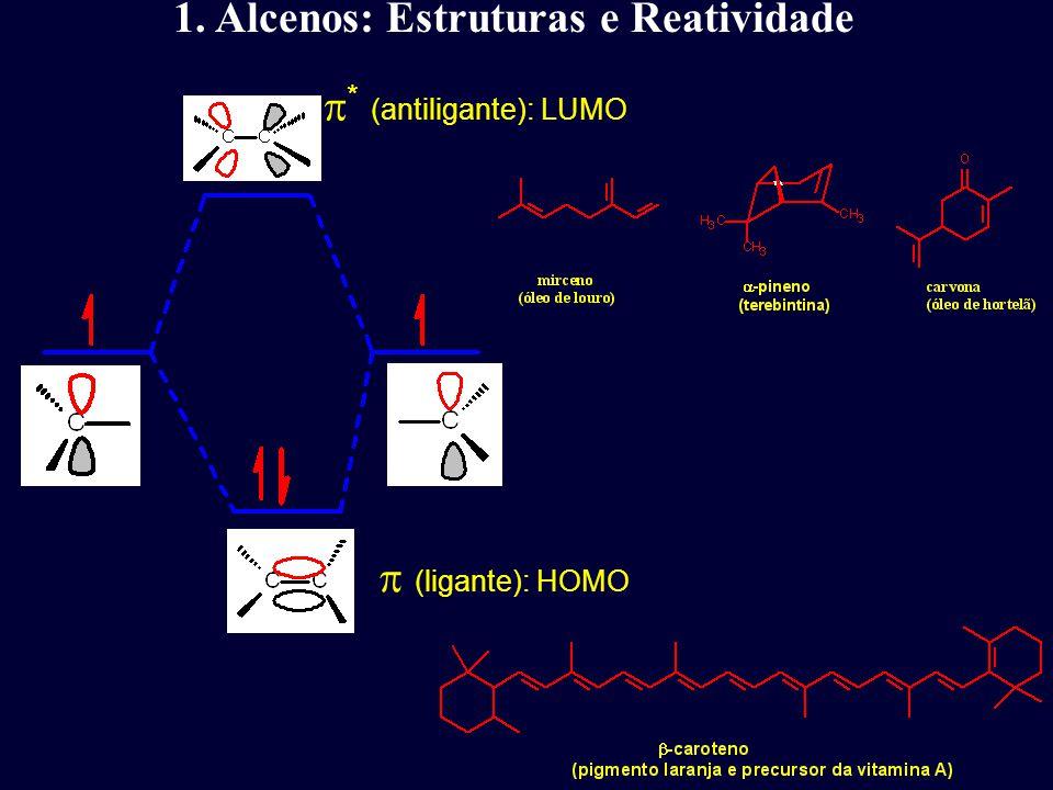 99% ee (1) Alcalóide quiral forma um complexo com o ósmio e o alceno, dirigindo o ataque a enantiofase do alceno, fornecendo o diol com 99% ee.