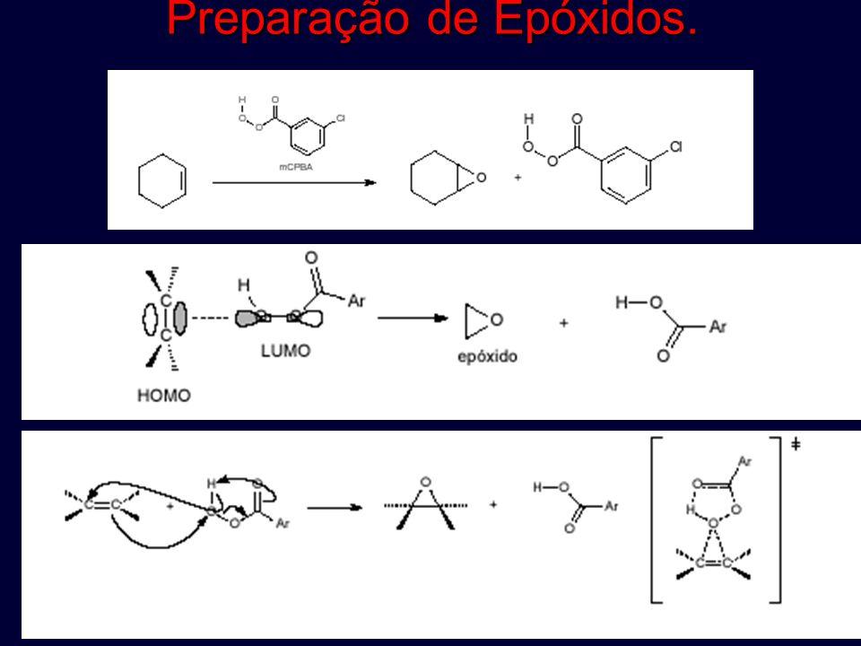 Preparação de Epóxidos.