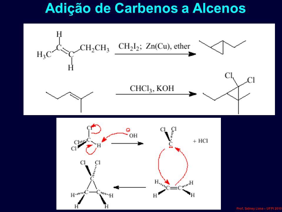 Adição de Carbenos a Alcenos Prof. Sidney Lima – UFPI 2010