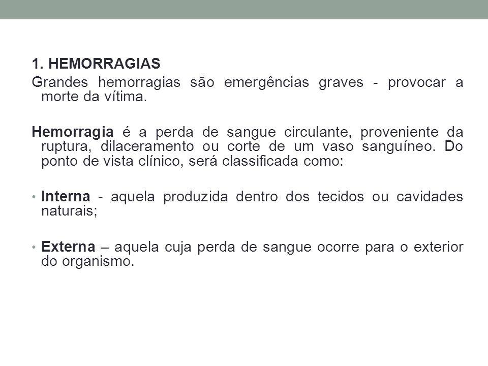 3.2 - Tratamento pré-hospitalar para prevenção de estado de choque: Uma vítima que está entrando em estado de choque deverá ser transportada com rapidez para um hospital.