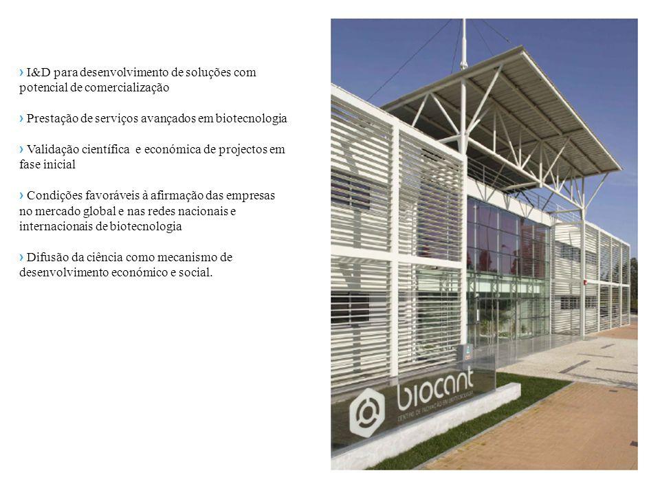 › I&D para desenvolvimento de soluções com potencial de comercialização › Prestação de serviços avançados em biotecnologia › Validação científica e ec