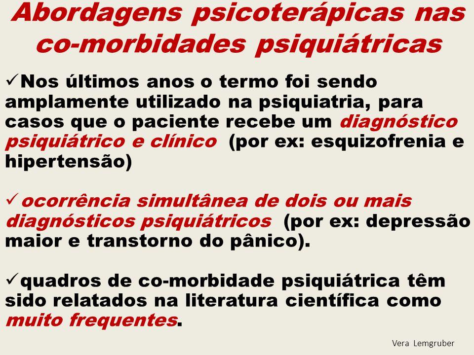Múltiplas co-morbidades psiquiátricas de Eixo I ao longo da vida em pacientes com THB.