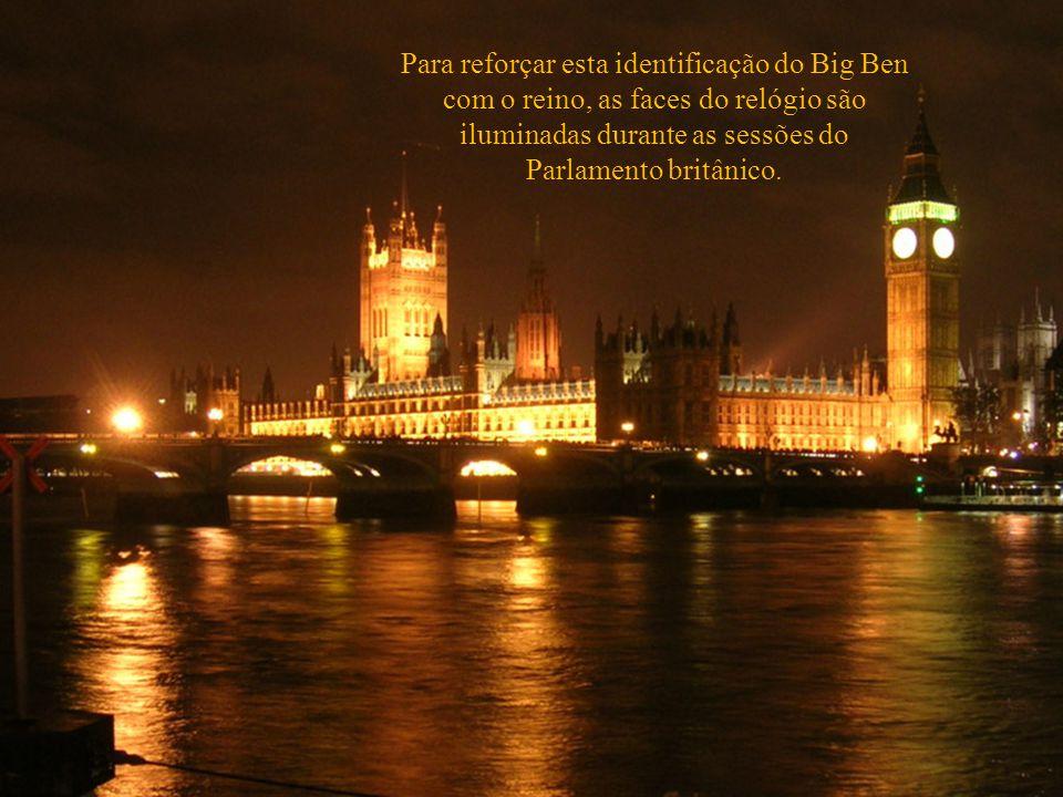 Os ingleses têm um carinho especial por seu som, que simbolicamente representa o horario do reino, e é transmitido diariamente pela Rádio BBC.