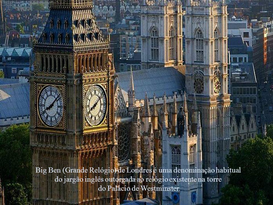 El Big Ben , uno de los símbolos más representativos de Londres y del Reino Unido.