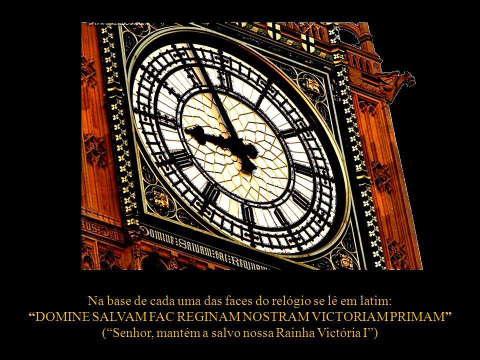 Big Ben (Grande Relógio) de Londres é uma denominação habitual do jargão inglês outorgada ao relógio existente na torre do Palácio de Westminster.