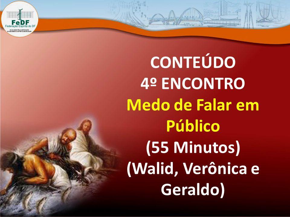 CONTEÚDO 4º ENCONTRO Medo de Falar em Público (55 Minutos) (Walid, Verônica e Geraldo)