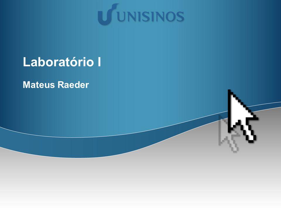 Laboratório I Mateus Raeder