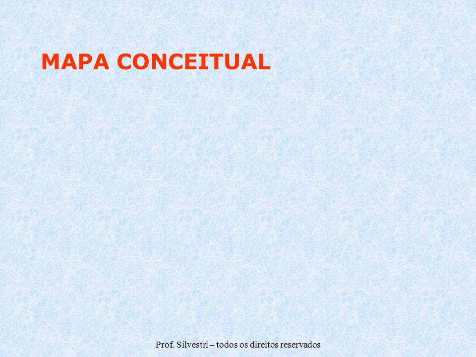 Prof. Silvestri – todos os direitos reservados MAPA CONCEITUAL