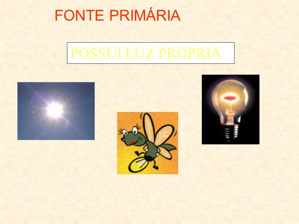 FONTES DE LUZ FONTES DE LUZ Primária Secundária Incandescente Luminescente Corpo luminoso Quente Fria Fluorescente Fosforescente c / agente s / agente