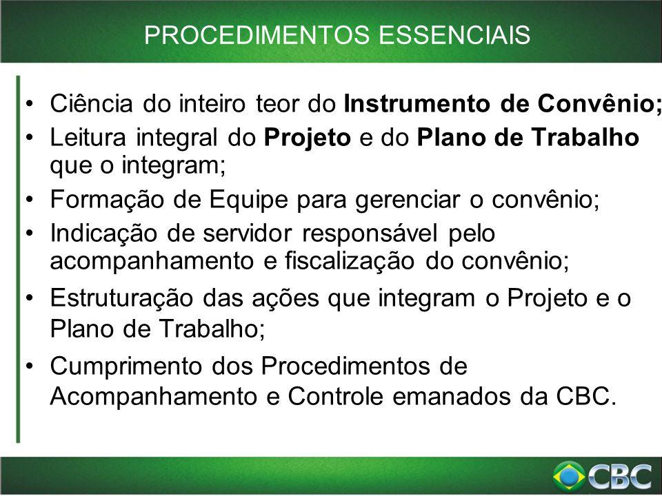 LIBERAÇÃO DOS RECURSOS Arts.