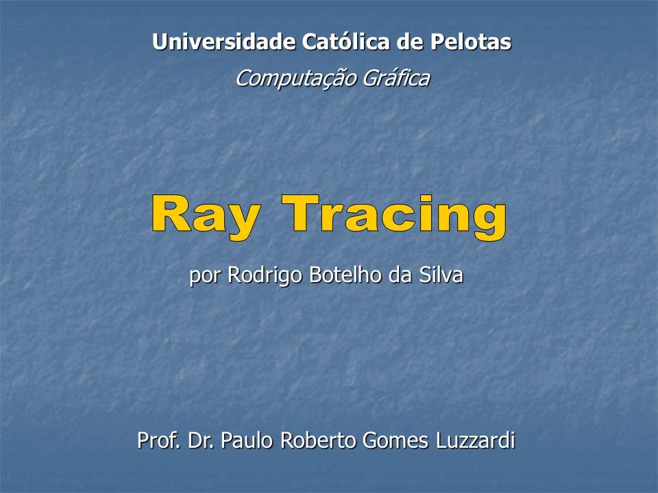 Sumário 1.Introdução 2. Histórico 3. Ray Tracing 4.
