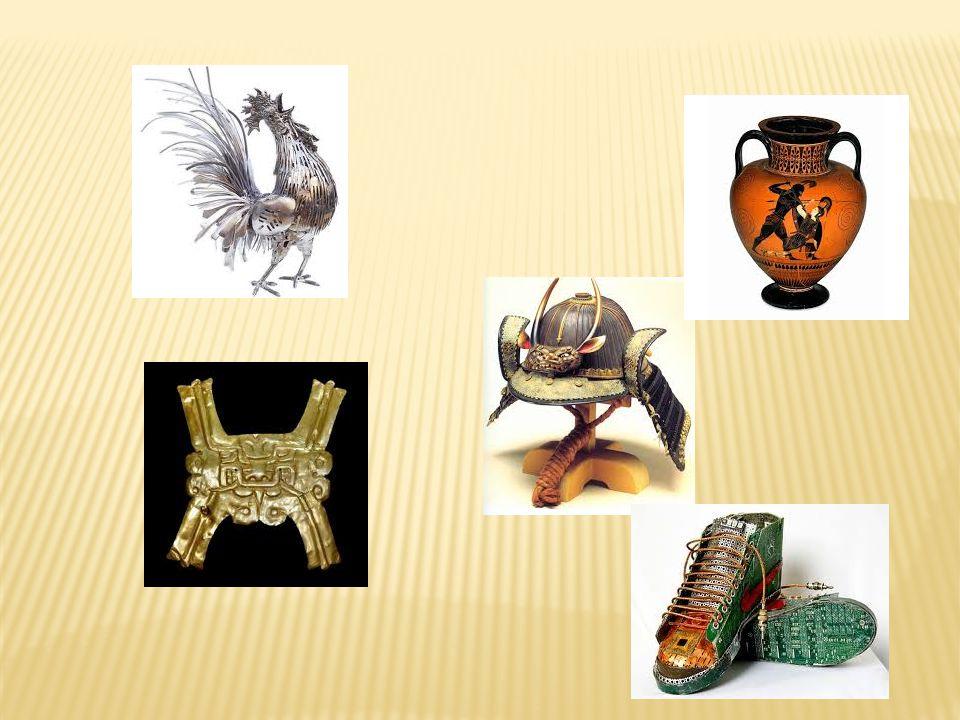 Escolha um objeto da sala de aula e transforme-o em uma obra exposta num museu.