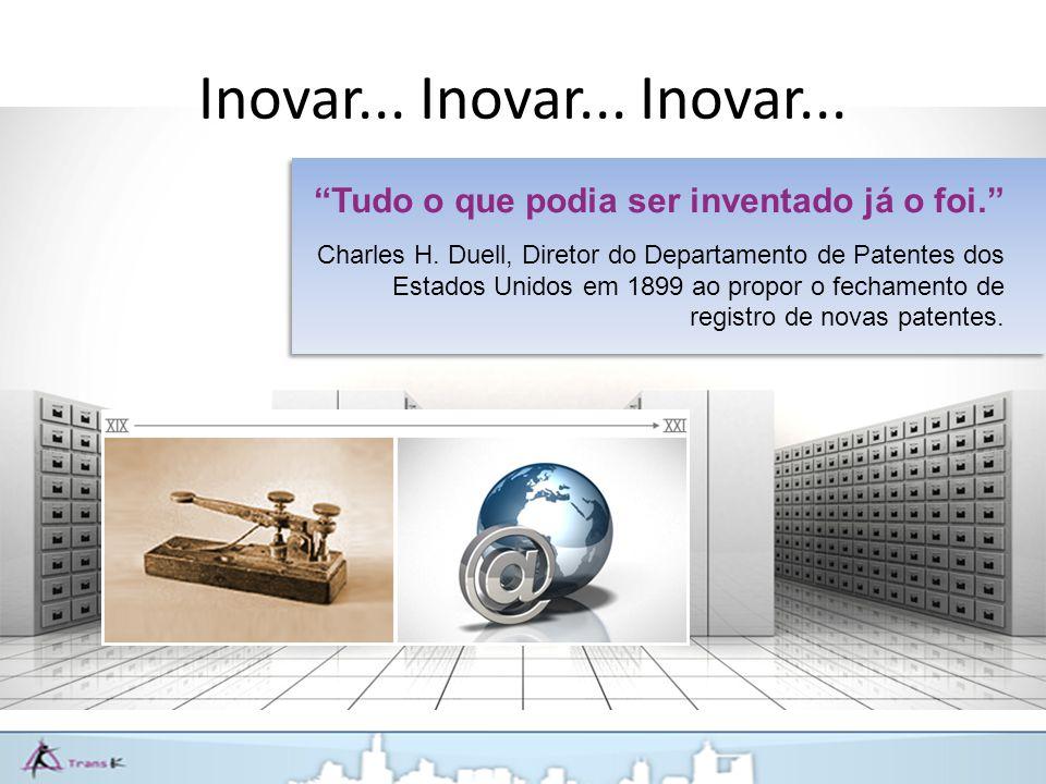 Inovar... Inovar... Inovar...