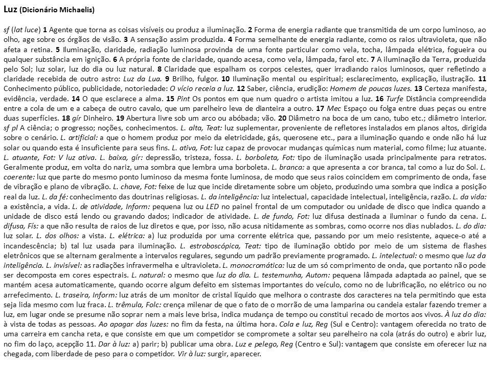 CARVALHO, S.H.M.de (2005). Einstein – Uma Luz sobre a Luz.