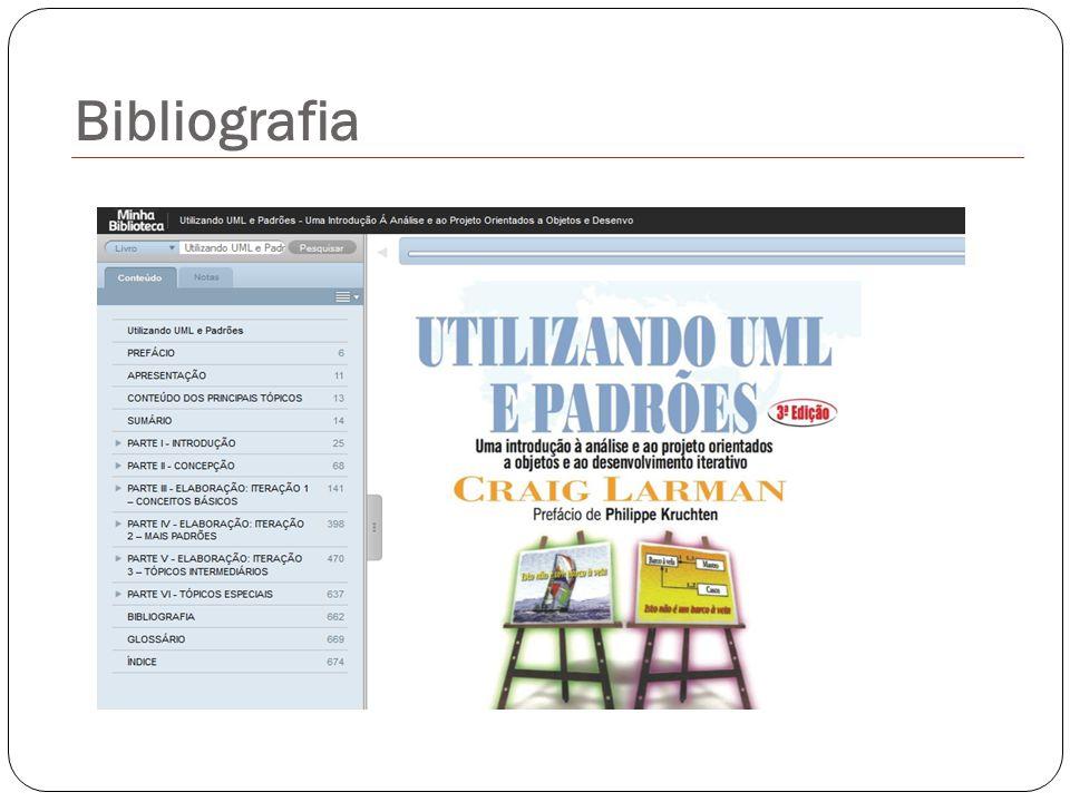 PAULA FILHO, W.P. Engenharia de Software: Fundamentos, métodos e padrões.
