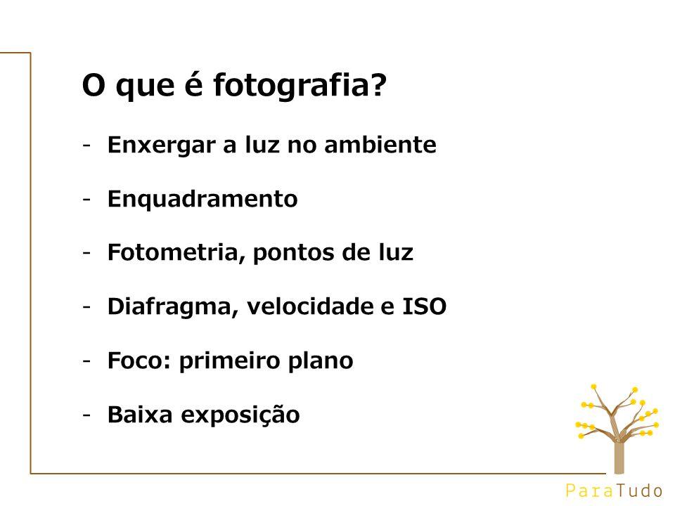 O que é fotografia.