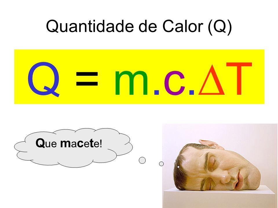 Unidade do calor específico Q = m.c.  T
