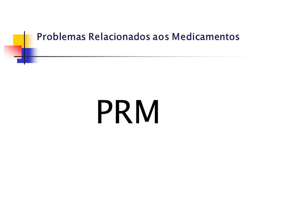 Problemas Relacionados aos Medicamentos PRM
