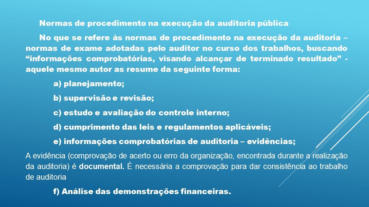 Normas para elaboração do relatório de auditoria pública Correspondem a um conjunto de princípios, voltados para a boa técnica redacional, como meio de traduzir o resultado de todos os trabalhos desenvolvidos.