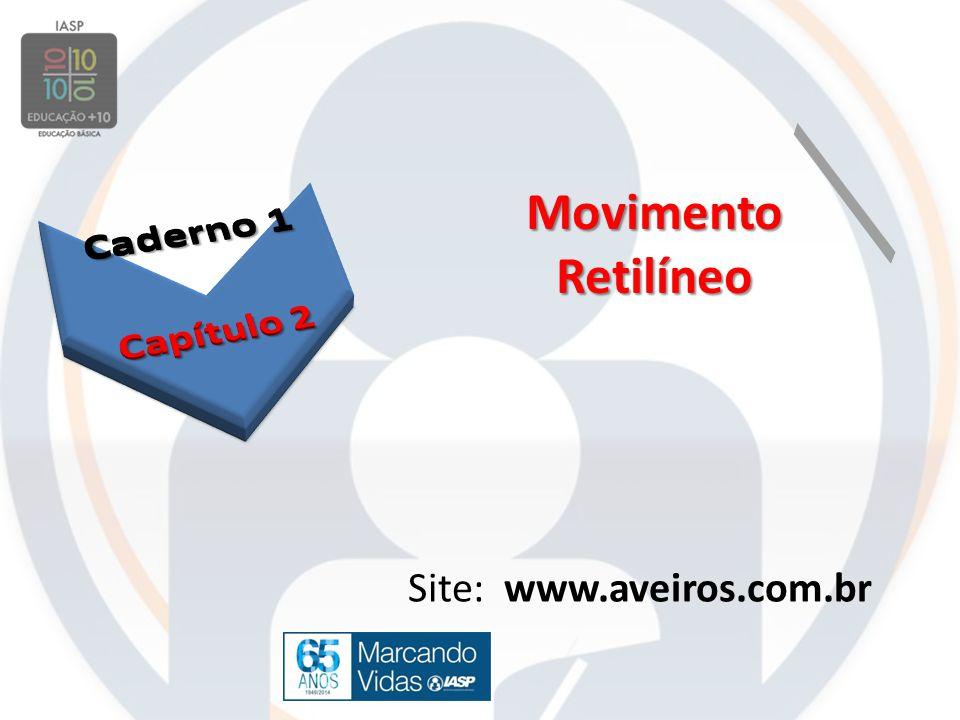 Movimento Retilíneo Site: www.aveiros.com.br
