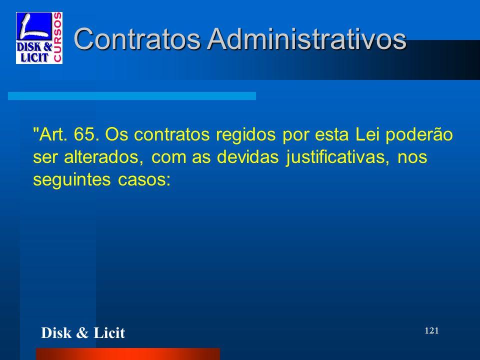 Disk & Licit 121 Contratos Administrativos