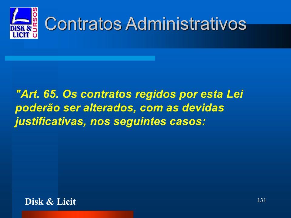 Disk & Licit 131 Contratos Administrativos
