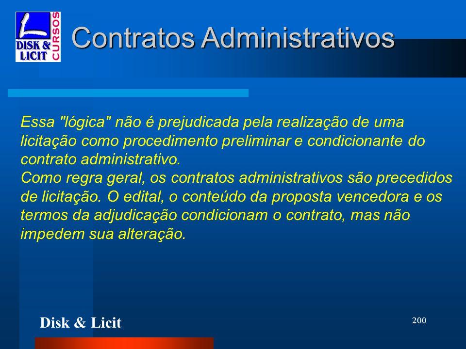 Disk & Licit 200 Contratos Administrativos Essa