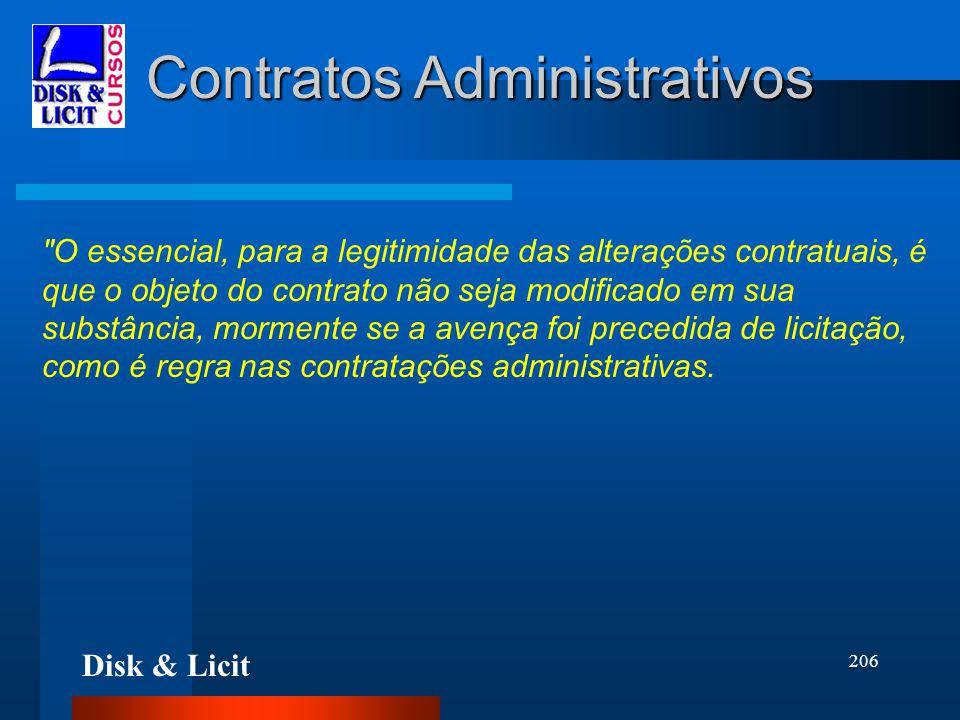 Disk & Licit 206 Contratos Administrativos