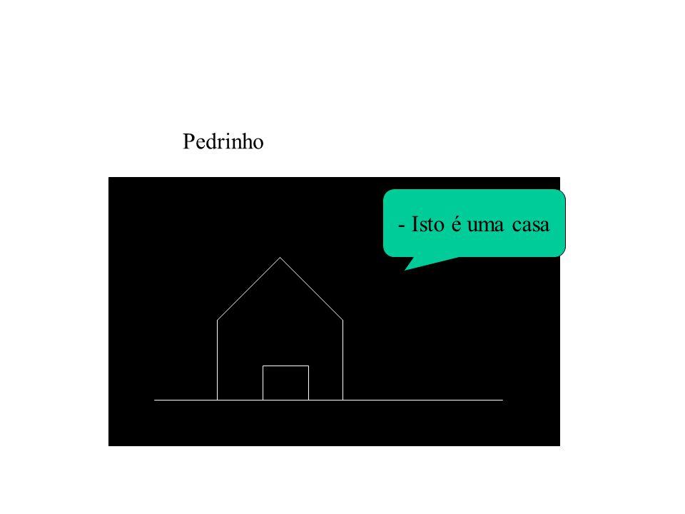 - Isto é uma casa Pedrinho