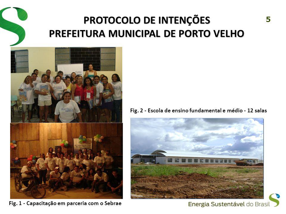 5 PROTOCOLO DE INTENÇÕES PREFEITURA MUNICIPAL DE PORTO VELHO Fig.