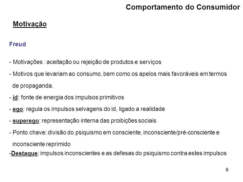 37 Processo de decisão de compra Comportamento pós-compra Satisfação ou insatisfação.