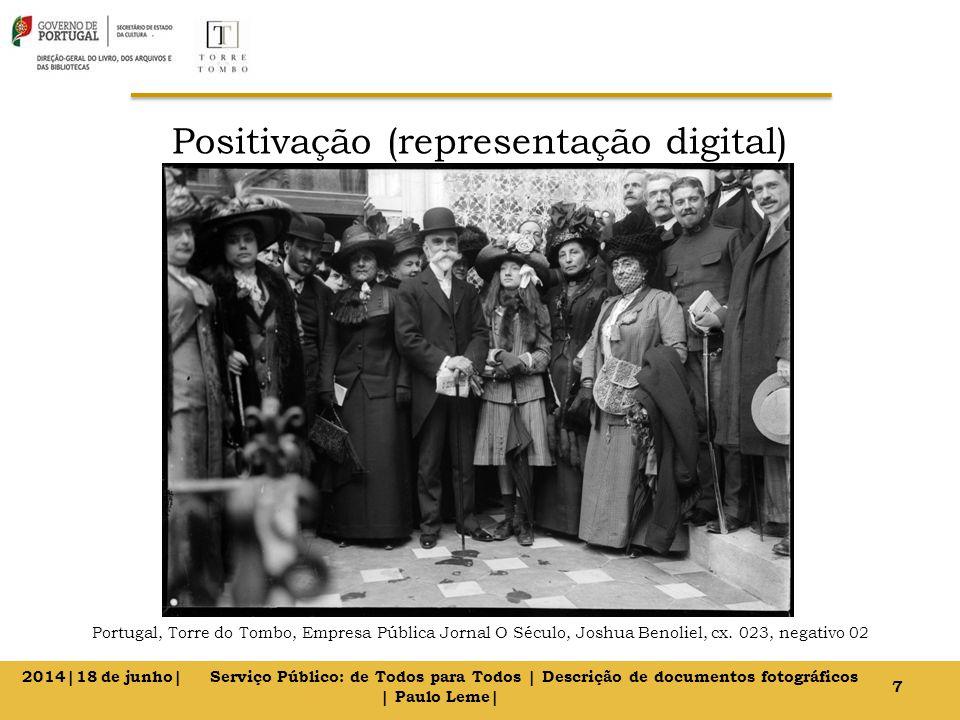 Positivação (representação digital) Portugal, Torre do Tombo, Empresa Pública Jornal O Século, Joshua Benoliel, cx.