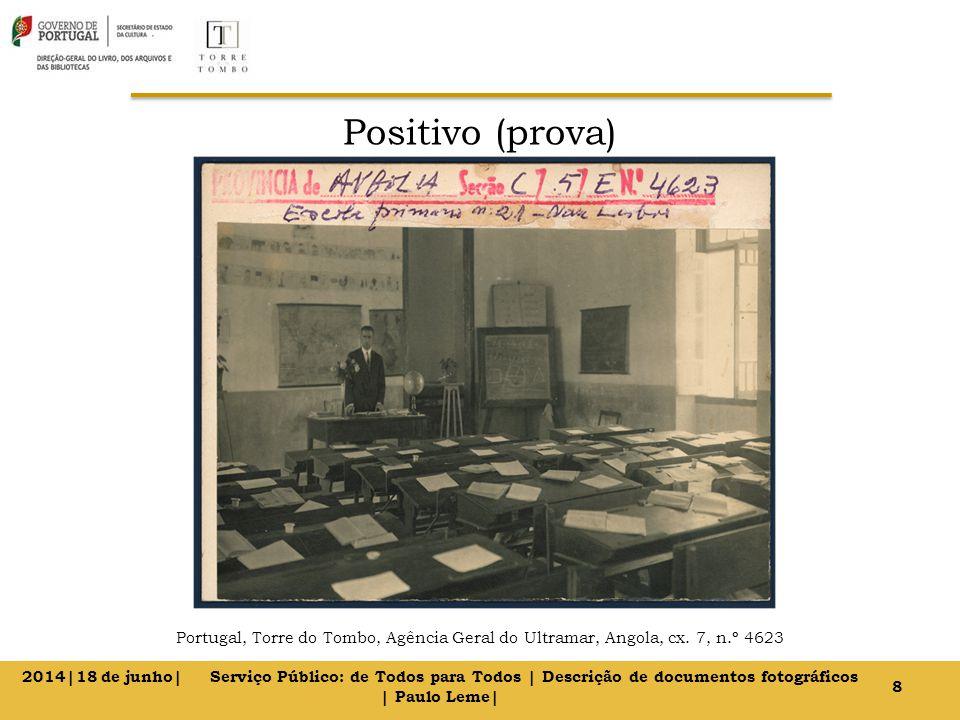 Positivo (prova) Portugal, Torre do Tombo, Agência Geral do Ultramar, Angola, cx. 7, n.º 4623 8 2014|18 de junho| Serviço Público: de Todos para Todos