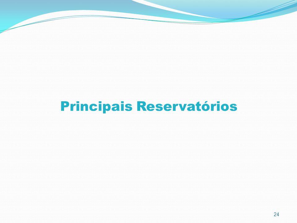 24 Principais Reservatórios