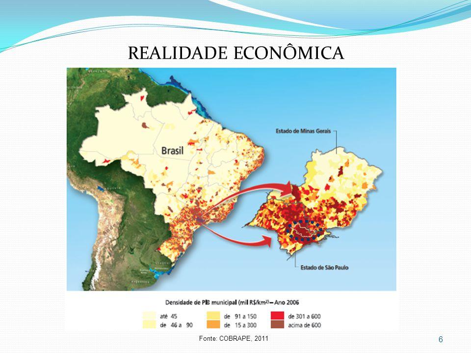 6 REALIDADE ECONÔMICA Fonte: COBRAPE, 2011