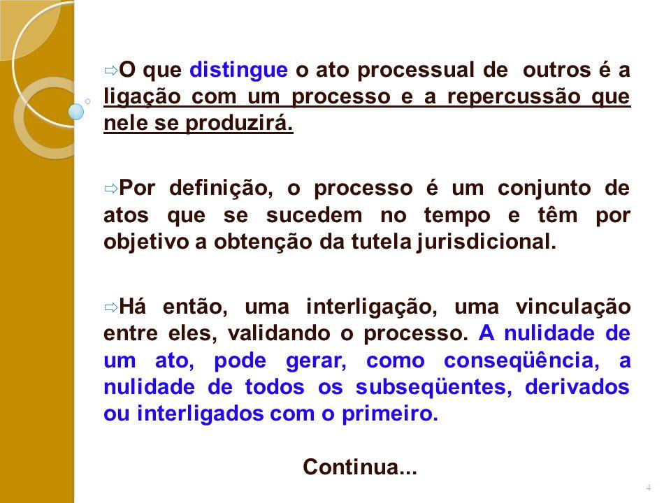 ATOS DO ESCRIVÃO OU DO CHEFE DA SECRETARIA:  O CPC (artigos 166 a 171), indica as regras burocráticas a serem seguidas para a autuação, bem como para a seqüência lógica dos atos procedimentais.
