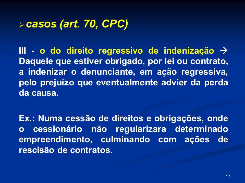 17   casos (art.
